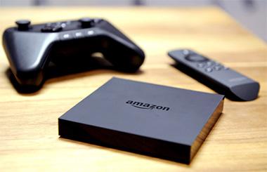 Amazon Fire TV с пультом и джойстиком